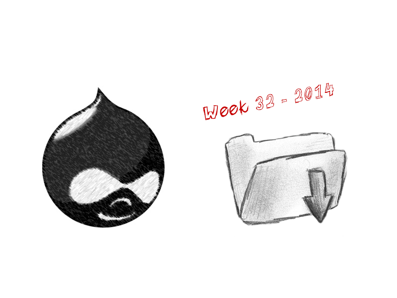15 coole Drupal module updates || week 32 - 2014