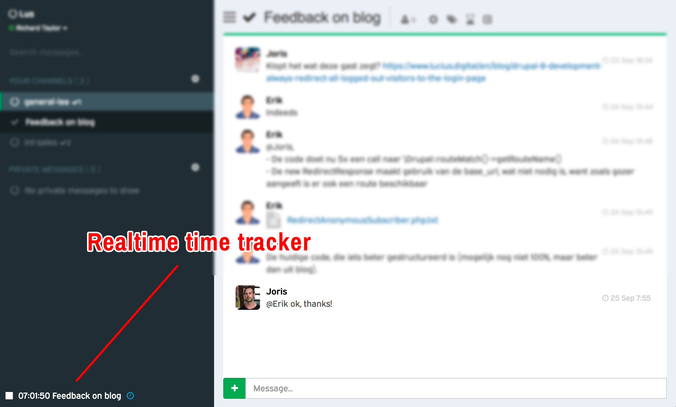 Lucius Labs | Update Lus: time tracking -en rapportage