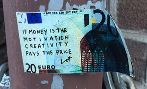 Money kills creativity